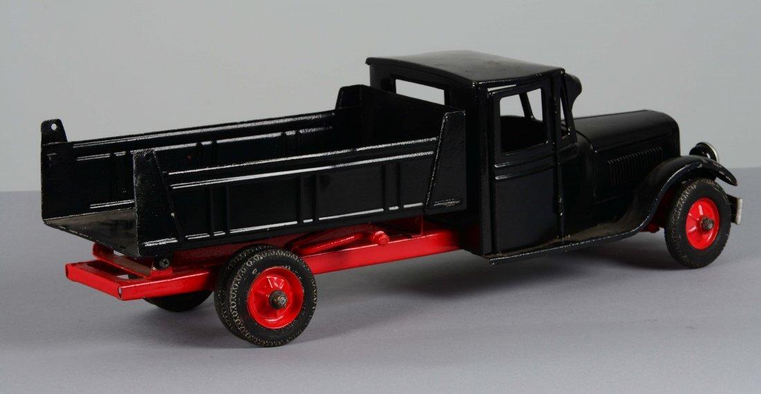 Pressed Steel Buddy L Toy Dump Truck - 2