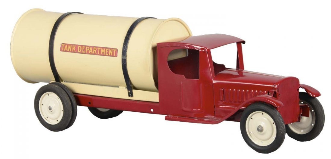 Pressed Steel Tanker Truck