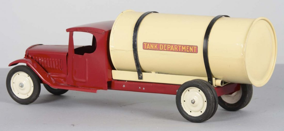 Pressed Steel Tanker Truck - 2