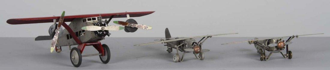 Lot Of 3: Pressed Steel Airplanes - 2