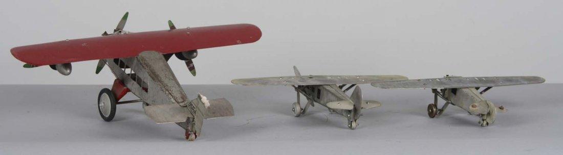 Lot Of 3: Pressed Steel Airplanes - 3