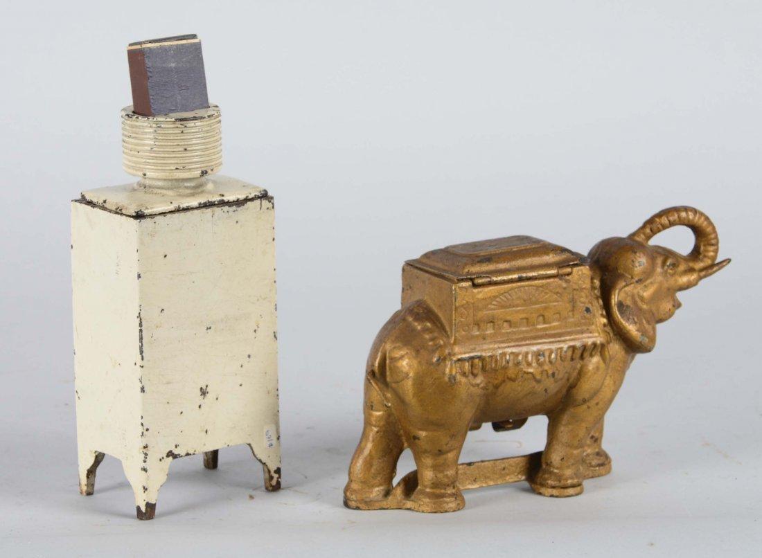 Lot Of 2: Figural Cigar / Cigarette Holders - 2