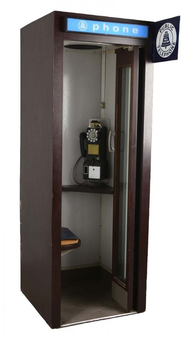Bell System Public Telephone Booth