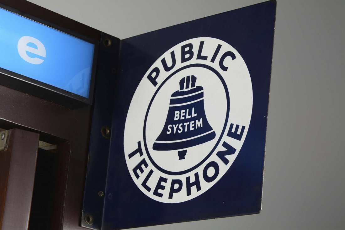 Bell System Public Telephone Booth - 4