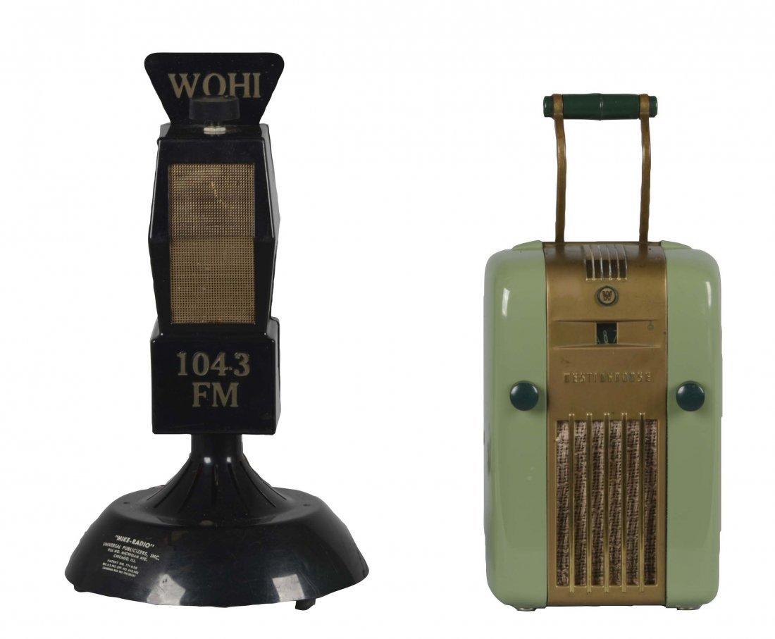 Lot Of 2: Vintage Radios