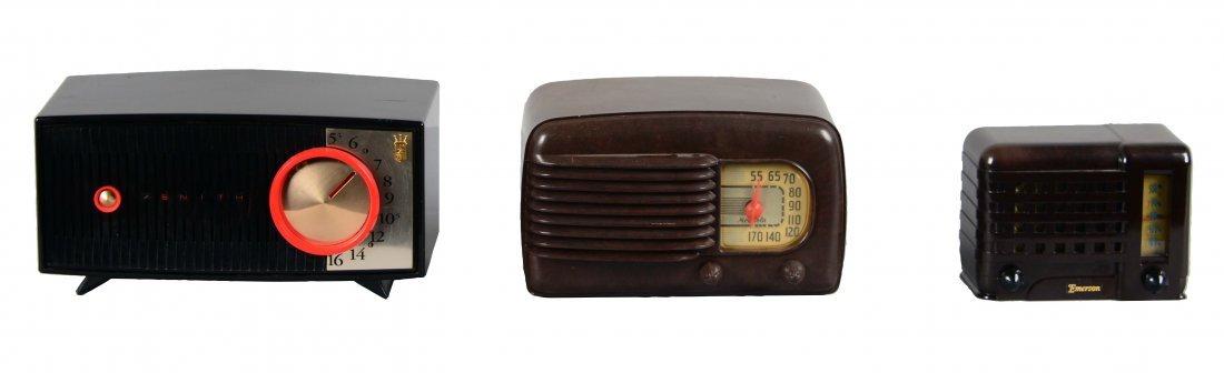 Lot Of 3: Vintage Radios