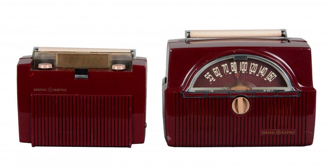 Lot Of 2: Vintage General Electric Radios