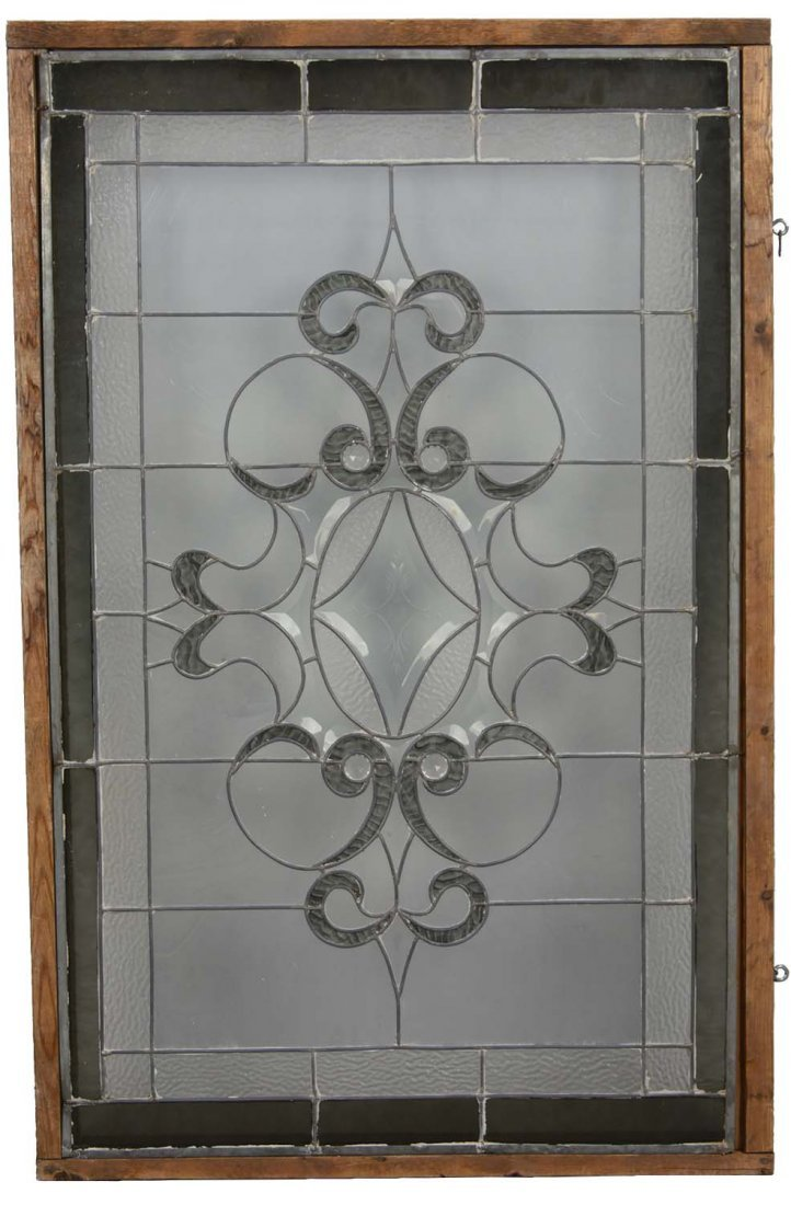 Victorian Style Stained Glass Window