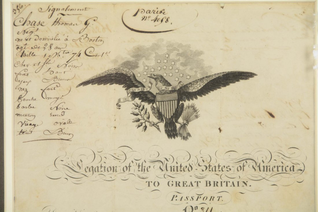1821 United States Of America Passport - 2