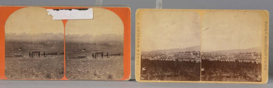 Lot Of 5: 19th Century Colorado Photographs/Stereoviews - 3