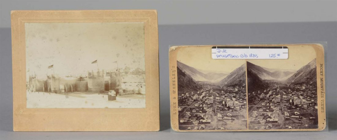 Lot Of 5: 19th Century Colorado Photographs/Stereoviews - 4