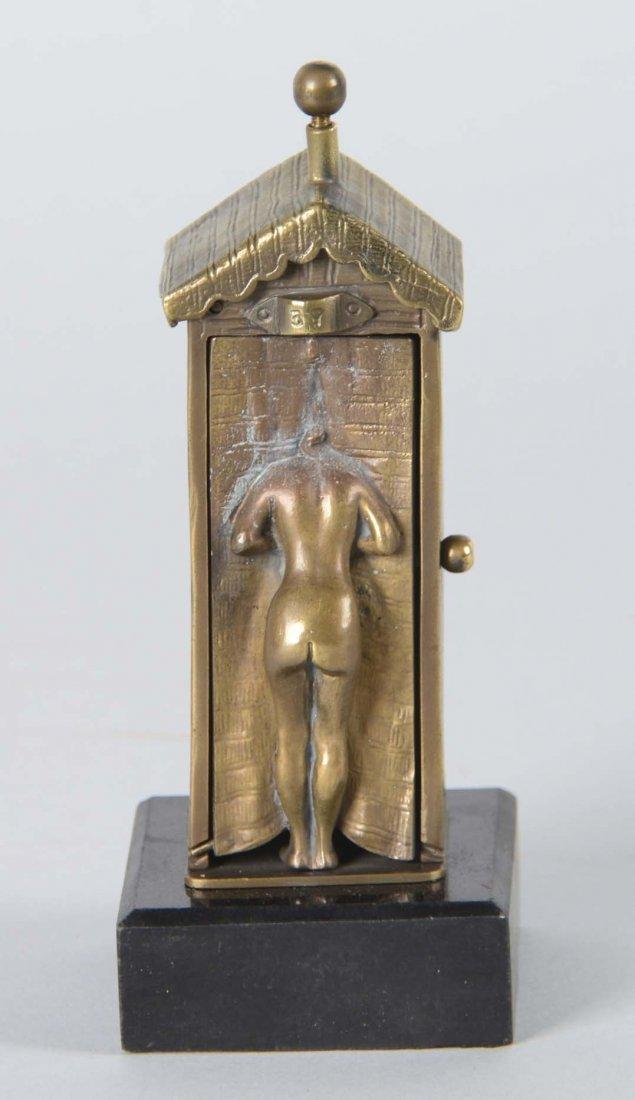 Franz Bergman Erotic Bronze Figure - 2