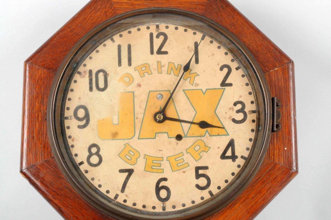 Early Jax Beer Advertising Clock. - 2