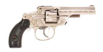 (A) Rare Factory Engraved Maltby Henly & Co. Revolver.