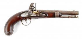 Model 1836 Flintlock Pistol by Waters.