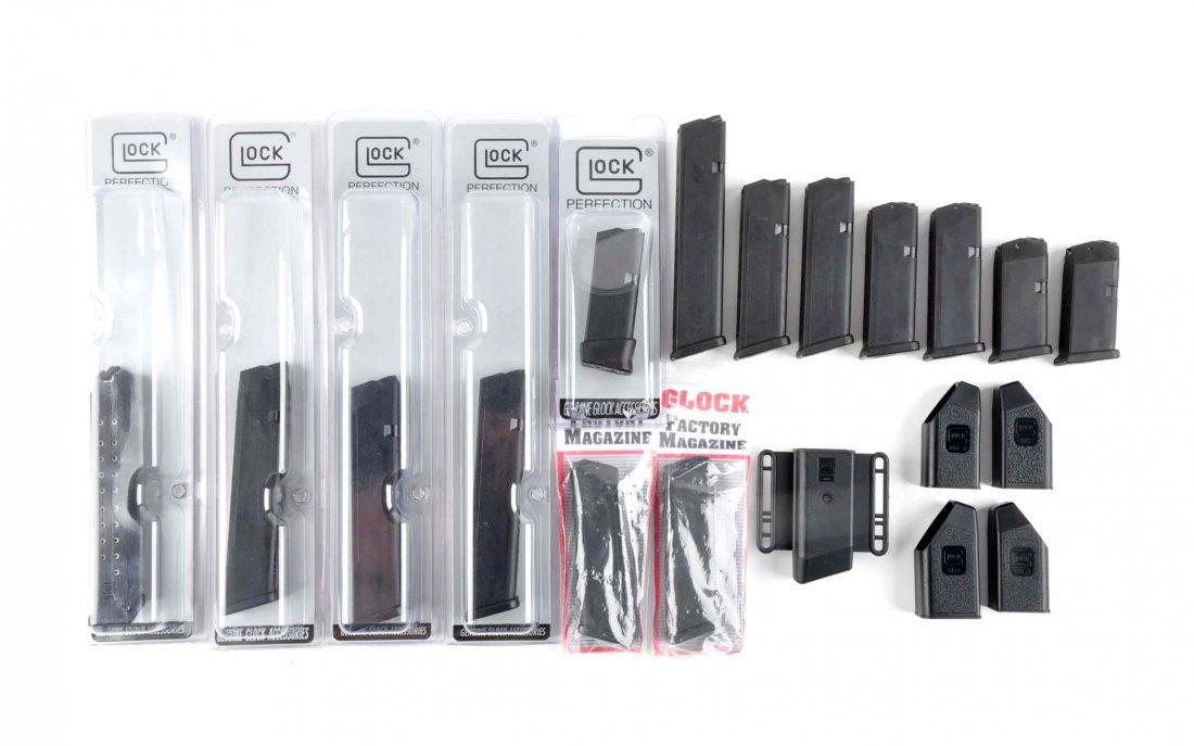 Lot of Glock Handgun Accessories.