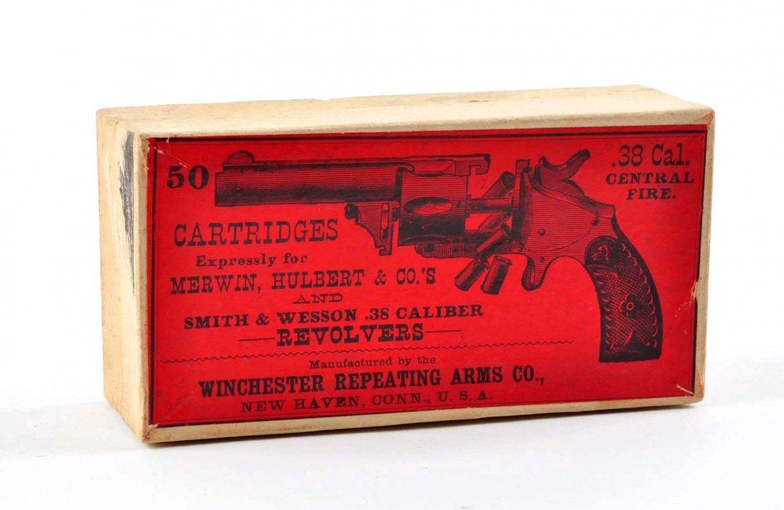 .38 MERWIN & HULBERT Picture Box Ammo.