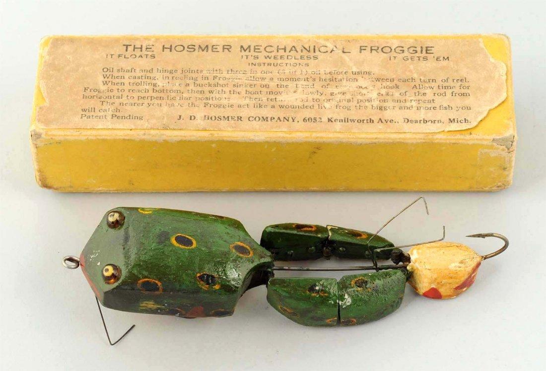Hosmer Mechanical Froggie with Original Box.