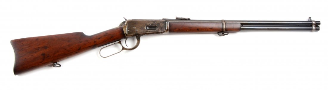 (C) Winchester Model 1894 Saddle Ring Carbine.