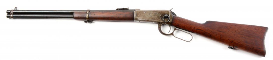 (C) Winchester Model 1894 Saddle Ring Carbine. - 2