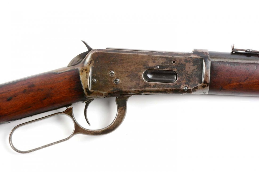 (C) Winchester Model 1894 Saddle Ring Carbine. - 3