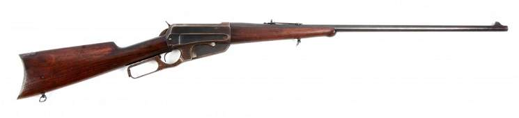 (C) Winchester Model 1895 Lever Action Rifle.