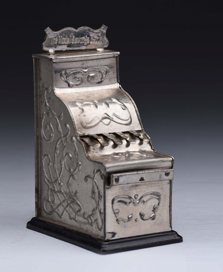 Tin Model Cash Register Bank.
