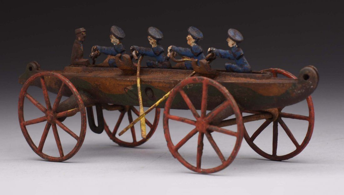 Cast Iron Rowing Boat.