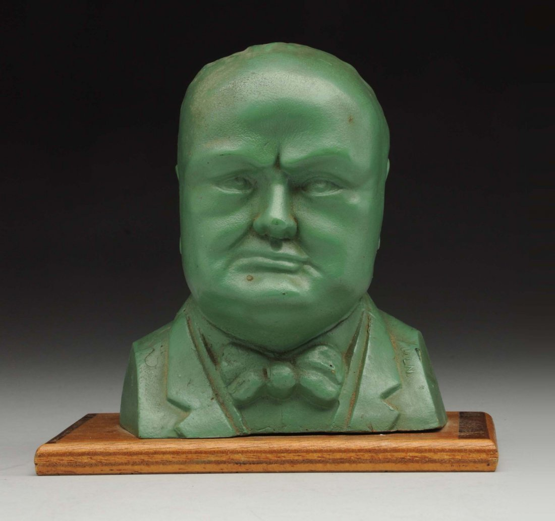 Save For Victory Bust Of Windston Churchill.