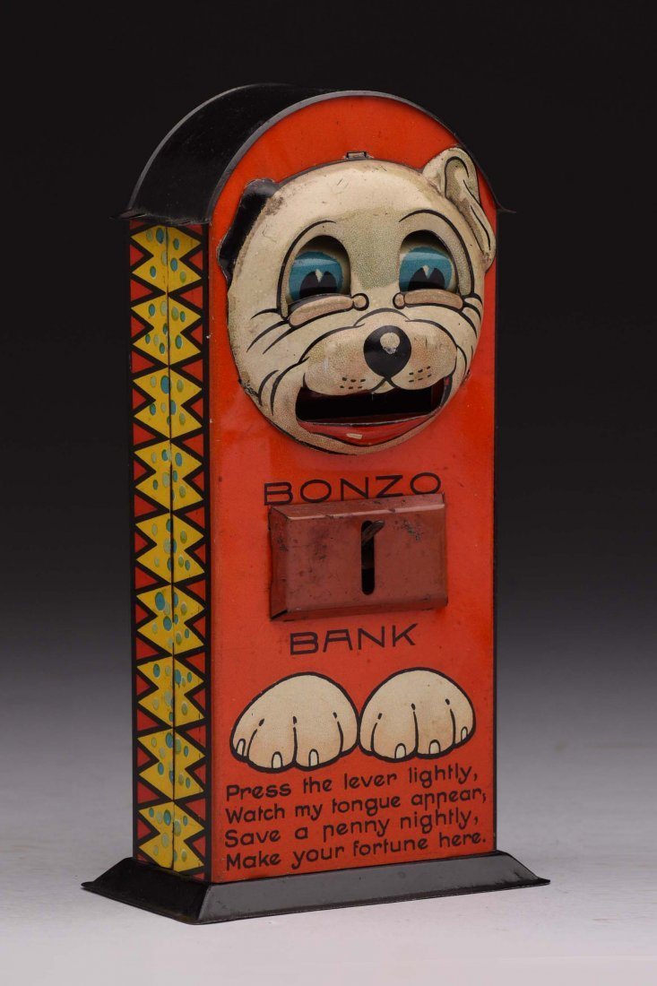 Tin Bonzo Mechanical Bank.