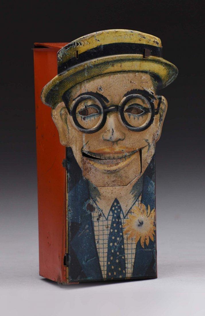 "Tin ""Harold Lloyd"" Mechanical Bank."