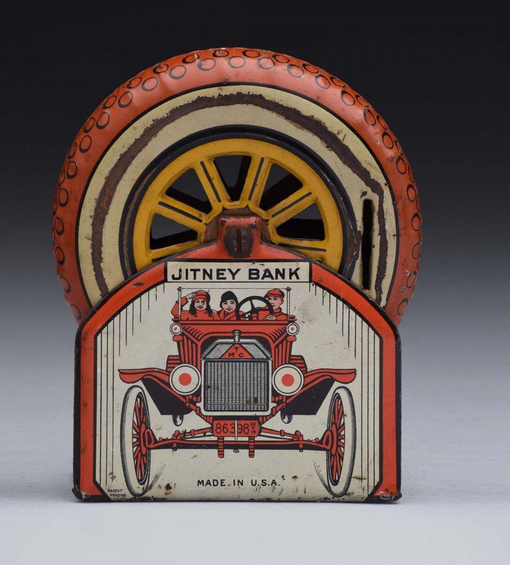 Tin Jitney Mechanical Bank.