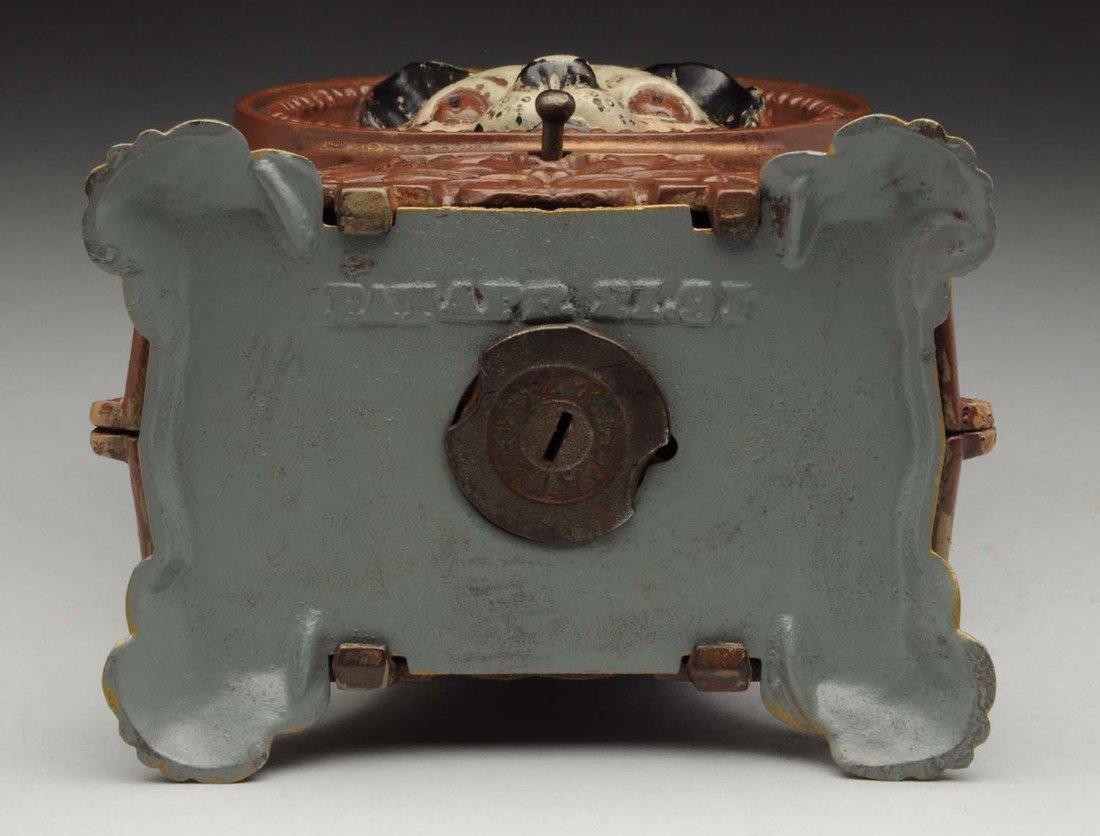 J.&.E.Stevens Cat & Mouse C.I. Mechanical Bank. - 3