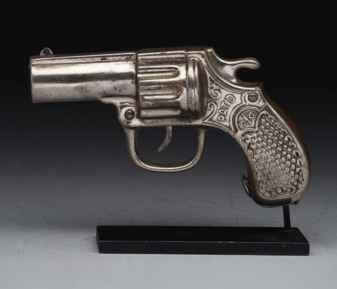 Richard Elliot Co. Pistol Mechanical Bank.