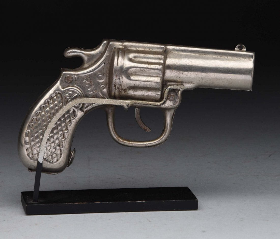 Richard Elliot Co. Pistol Mechanical Bank. - 2