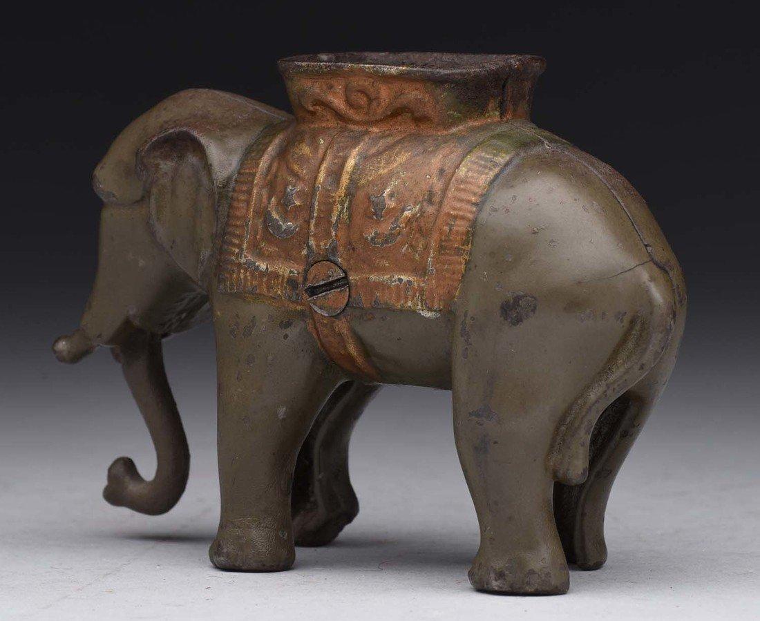 A.C. Williams Small C.I. Elephant Bank. - 2