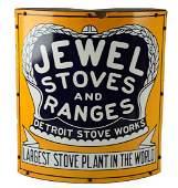 Jewel Stoves & Ranges Porcelain Corner Sign.