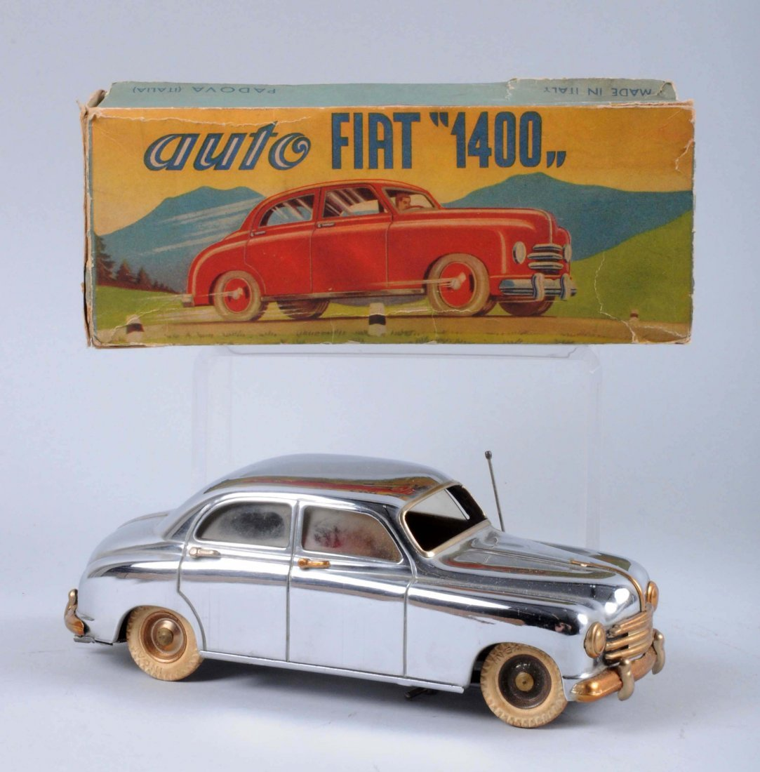 Italian Ingap Chromed Auto Fiat 1400.