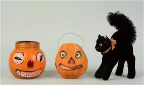 Lot Of 3: Vintage Halloween Pieces.