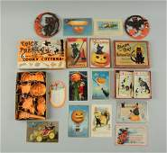 Lot of Miscellaneous Halloween Pieces.