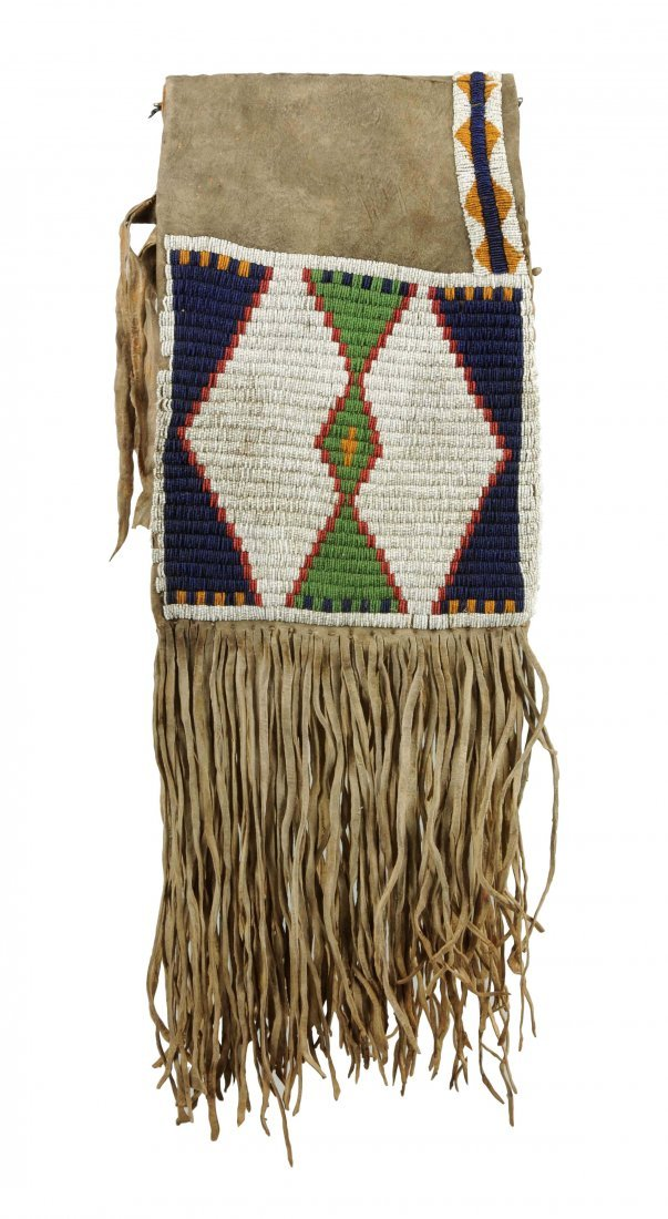 Early Northern Plains Saddle Bags.