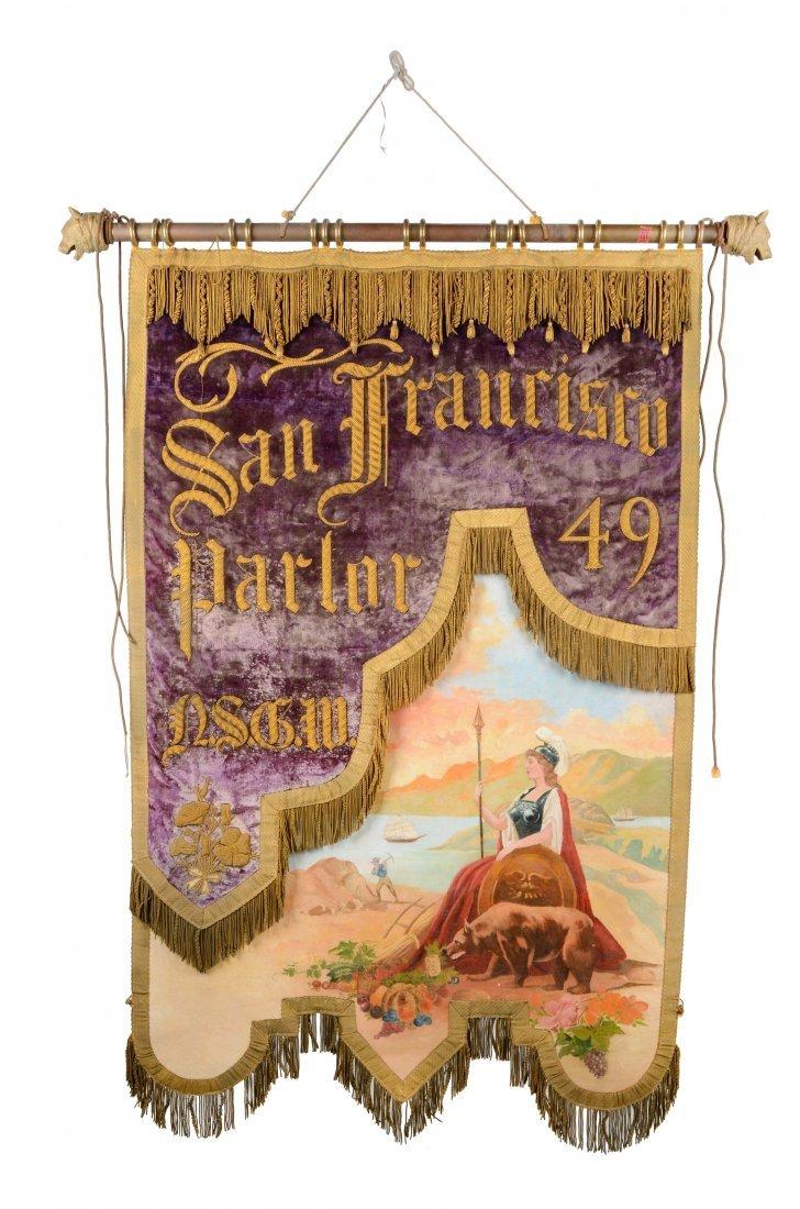 N.S.G.W. San Francisco Parlor 49 Banner.