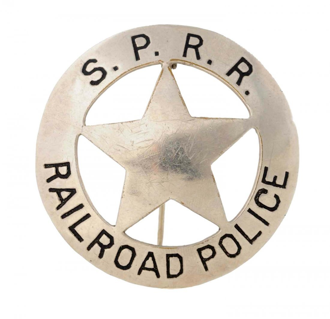 Southern Pacific Railroad Police Badge.