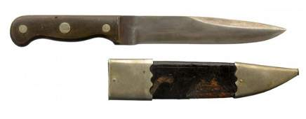 Schively Signed Philadelphia Bowie Knife.
