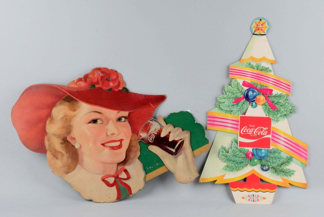 Lot Of 2: Coca-Cola Advertising Items.