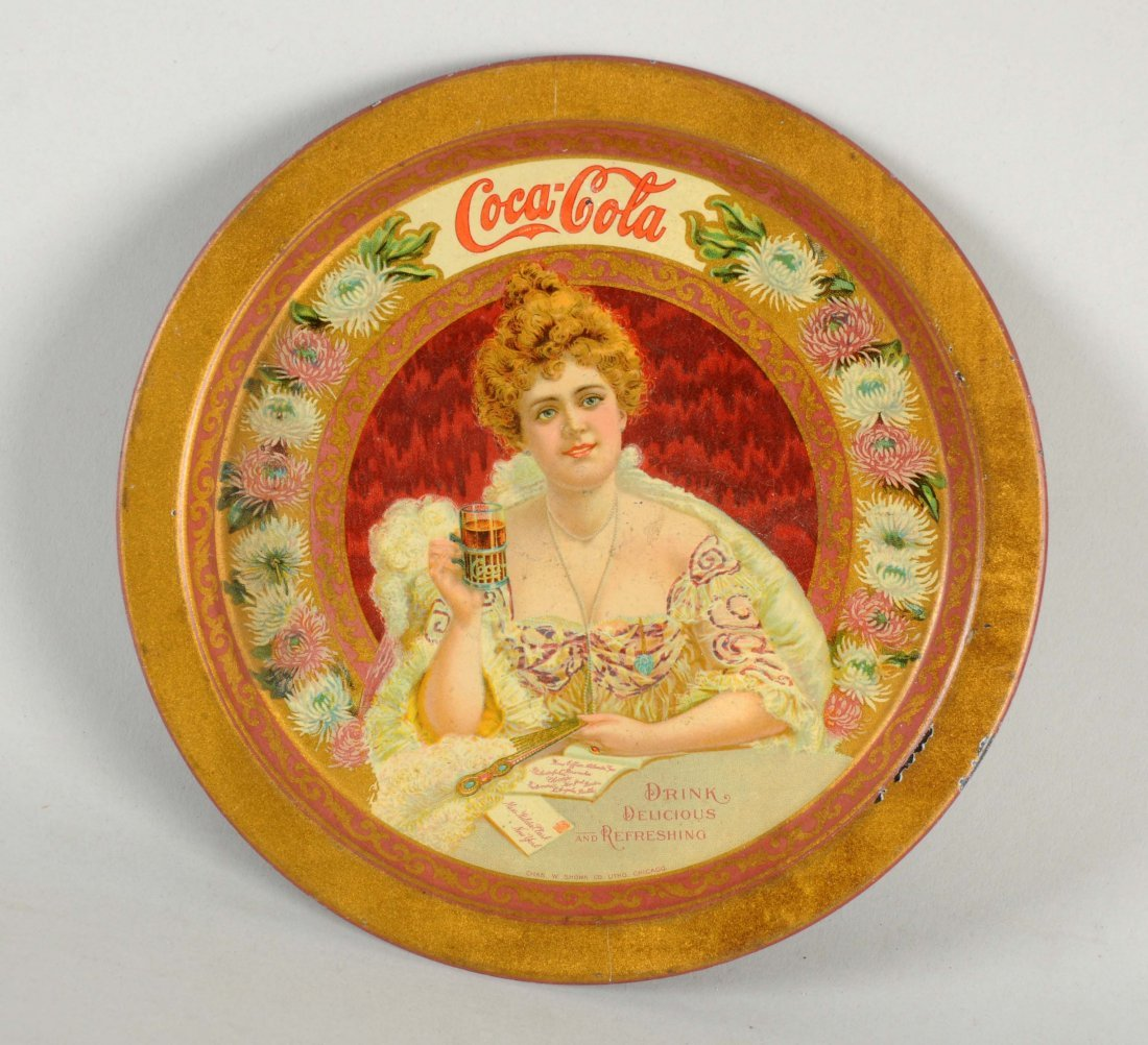 1903 Coca-Cola Change Tray.
