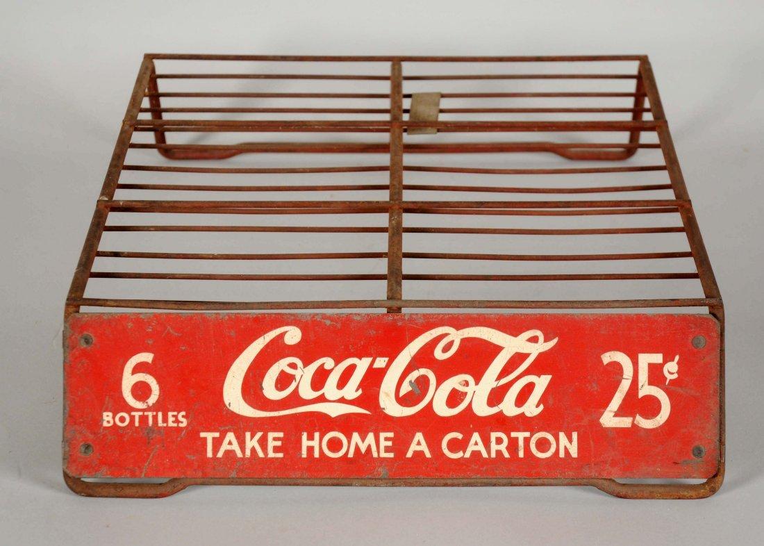 Coca-Cola Metal Rack.