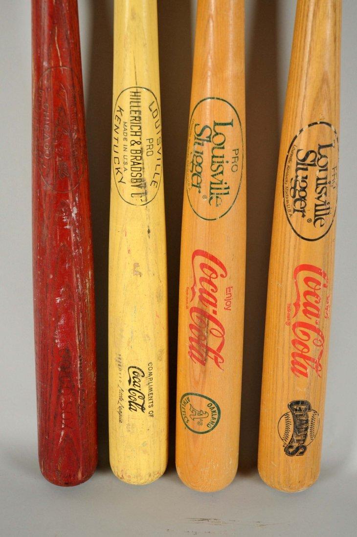 Lot Of 4: Coca-Cola Baseball Bats. - 2