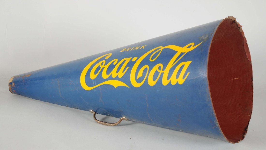 Lot of Coca-Cola Megaphone.
