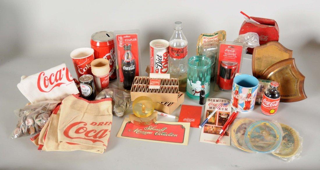 Large Lot of Coca-Cola Memorabilia.